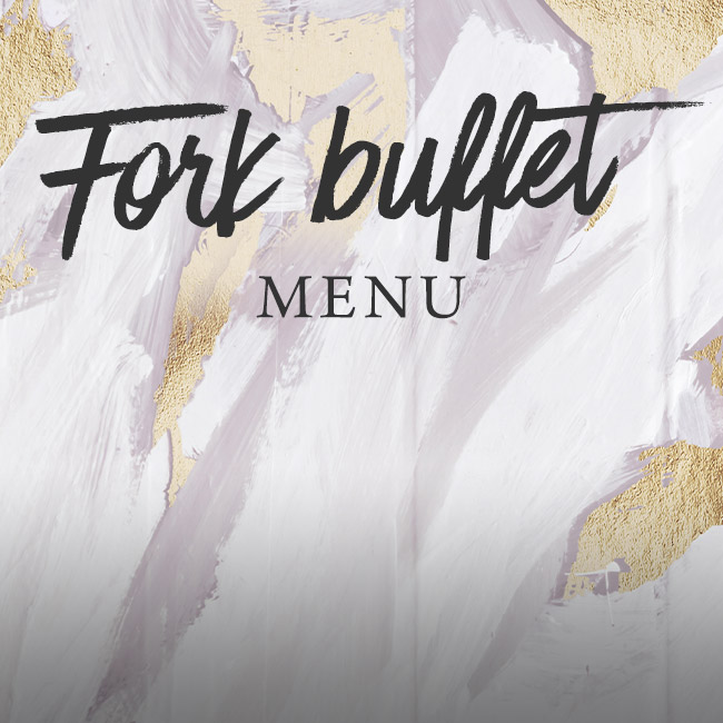 Fork buffet menu at The Fishery Inn