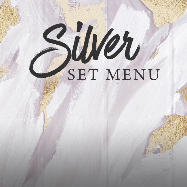 Silver set menu at The Fishery Inn
