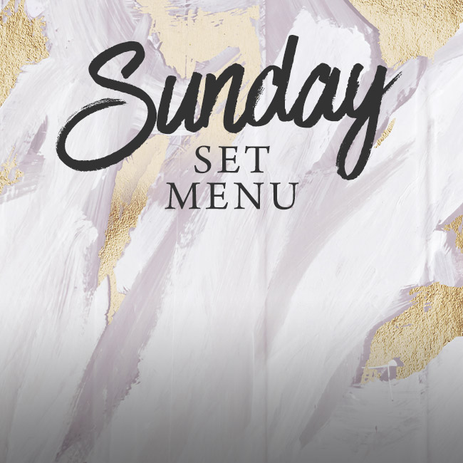 Sunday set menu at The Fishery Inn