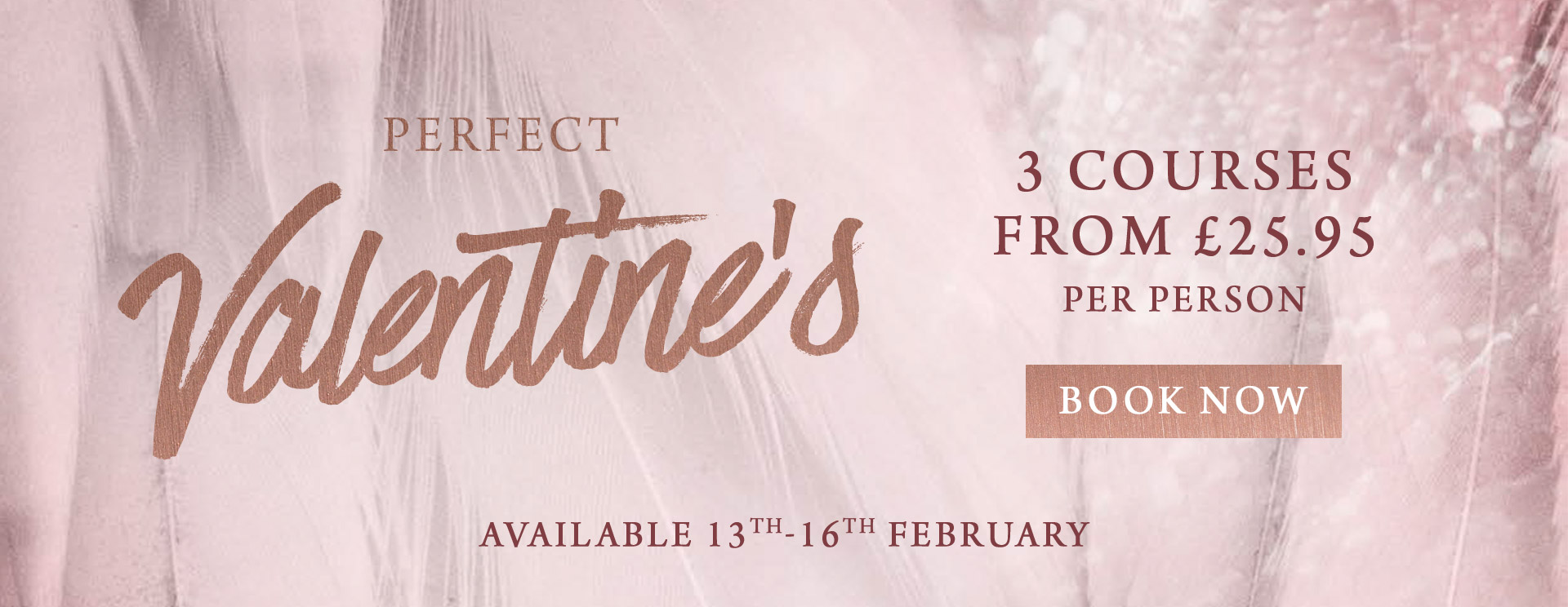 Valentines at The Fishery Inn